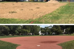 Lewland-Ball-Field-Before-After